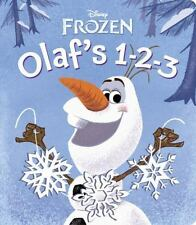 Disney Frozen Olaf's 1-2-3, NEW Book