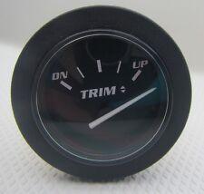 # 57436 New Trim Tilt Up / Down Black Gauge Free Ship!