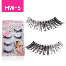 5 Pairs / Lot Hot Popular False Eyelashes Lashes Voluminous Beauty Makeup HW-5