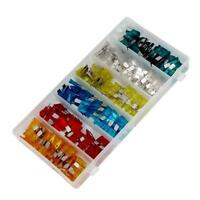 CT1640 120PC Standard Assorted Car Van Auto Blade Electrical Fuses & Storage Box