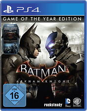 Batman: Arkham Knight-Game of the Year Edition (Sony PlayStation 4) nuevo embalaje original &.