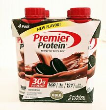 Premier Protein High Protein Shakes (11 fl. oz., 4 pack) Cookies and cream