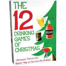 The 12 Drinking Games of Christmas X-MAS adult holiday XMAS Kheper Games