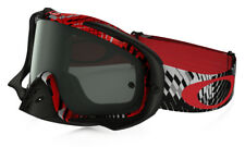 MASQUE CROSS OAKLEY CROWBAR MX PODIUM CHECK COULEUR ROUGE / NOIR