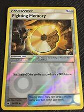 Pokemon : SM CRIMSON INVASION FIGHTING MEMORY 94/111 UNCOMMON REVERSE