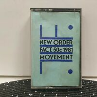 New Order Movement FACT. 50c 1981 Rare Cassette Tape Qwest Records Rare