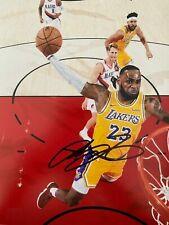LeBron James Autographed Signed 8x10 Photo ( Lakers ) REPRINT