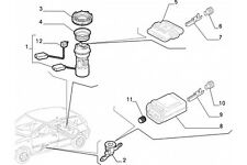 46545166 - Potenziometro sensore carburante FIAT Punto 1993/2000 LANCIA Y10 1995