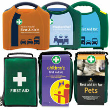 First Aid Kits - Medical Emergency Bag Case - Refill Kitchen Sports Pets Kids