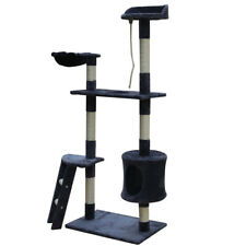 """60"""" Cat Tree Tower Condo Furniture Scratching Pet Kitty Play House Toy Hammock"""