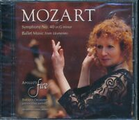 Mozart Symphony No 40 in G Minor CD NEW Ballet Music from Idomeneo Apollo's Fire