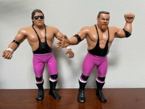 Vintage LJN Titan Sports WWF The Heart Foundation Action Figures--Awesome!