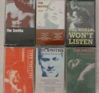 THE SMITHS - Lot of 6 Cassettes - RANK Strangeways QUEEN IS DEAD World BOMBS