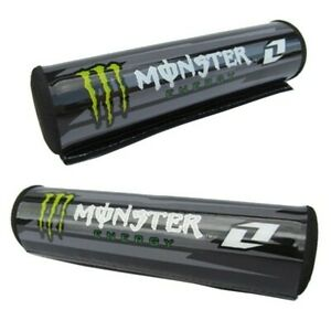 Monster Energy Round Handlebar Bar Pad MX ATV Pit Dirt Quad Bike Renthal Crosser