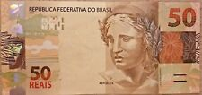 BRAZIL BANK NOTE REPLACEMENT 50 REAIS UNC ND 2010