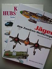 2 Bücher Jäger des Zweiten Weltkrieges Kampfhubschrauber Technik Bewaffnung Typ
