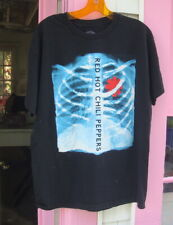 Red Hot Chili Peppers T Shirt X Ray Skeleton Black Large