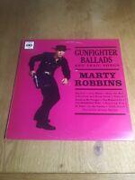 Marty Robbins - Gunfighter Ballads And Trail Songs 1968 Original Vinyl CBS 62359