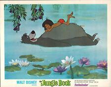 The Jungle Book R1978 11x14 Lobby Card #nn  Walt Disney