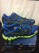 Men's / Boy's NEW BLACK /BLUE ZIGDYNAMIC COLOR PACK REEBOK SNEAKERS SIZE 5
