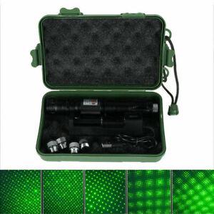 LED Laserpointer Set Grün 532NM Taschenlampe Strahl Licht Mini Laser Beam Light