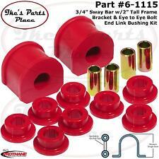 "Prothane 6-1115- 3/4"" Sway Bar&Eye Bolt-Eye Bolt End Link Bushing Kit-Frt or RR"