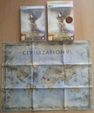 Sid Meier's Civilization VI PC Box + Cloth Map