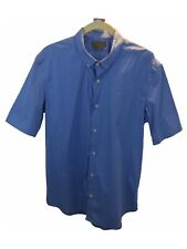 Zara man Mens Polo Shirt Cotton Slim Fit Collar Button Down Super Slim Zaraman M