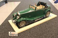 Pocher Factory Built 1932 Rolls-Royce Phantom II Sedanca Coupe 1:8 green (KM)