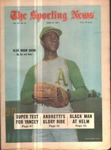 The Sporting News Newspaper June 14, 1969 Up, Up and Away Blue Moon Odom