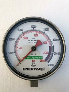 Enerpac T 6010L Test Systems Pression Jauge 2800 Barre / 40,000 Psi Neuf #3