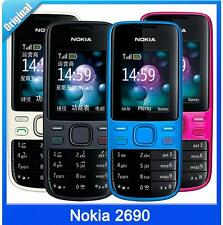 Nokia 2690 Cheap mobile phone Bluetooth Camera Video FM Original Unlocked