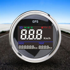 Digital Odometer Speedometer Trip Turning Headlight Indicator Oil Pressure52mm