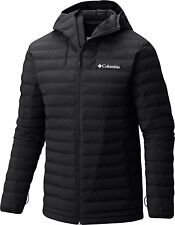 NWT Columbia Men's Open Site Hooded Jacket Size L Black MSRP $199