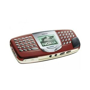 Phone Mobile Phone Nokia 5510 Red Gsm Keyboard Qwerty Radio Games