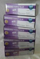 Einmalhandschuhe blau XL Untersuchungshandschuhe UNIGLOVES Nitril puderfrei