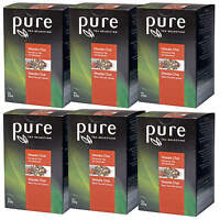 Pure Tea Selection Masala Chai Tee 6 x 25 Portionen Schwarzer Tee mit Gewürzen