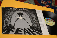 EASY GOING LP FEAR 1°ST ORIG ITALY 1979 COPERTINA IN RILIEVO E INNER TESTI