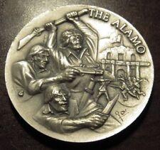 The Alamo Longines Sterling Silver Medal - 35.6 grams San Antonio, TX
