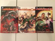 NM New 52 DC Comics Futures End Volumes 1-3 Trade Paper Backs TPB
