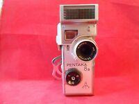 Pentacon 8mm Schmalfilmkamera Pentaka8b-Pentafon- Biotar 2/12,5 Carl Zeiss Jena