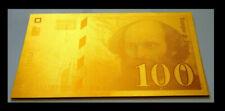 Billets de la banque française 100 Francs sur Cézanne