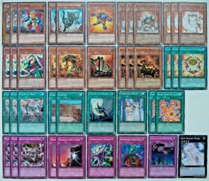 YUGIOH 42 CARD ROCK DECK