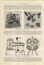 1921 Reavell Quadruplex Air Compressor Tests