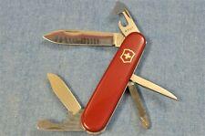 <1968 Victorinox 84mm VICTORIA TINKER SMALL+PAT CLIP POINT Swiss Army Knife VTG