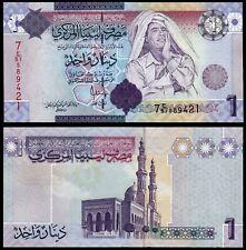 LIBYA 1 DINAR (P71) N. D. (2009) UNC