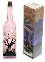 Fairy Tree Dream Decorative Vintage Bottle With LED Light String Lamp 0.6W Pink