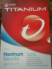 Trend micro titanium maximum security 2013