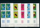 [G29153] Chad 1972 : Insects - 4x Good Set Very Fine MNH Stamps - Dated Corner