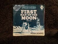 Commemorative Record (LP) of APOLLO 11 Flight FIRST MAN ON THE MOON JULY 1969
